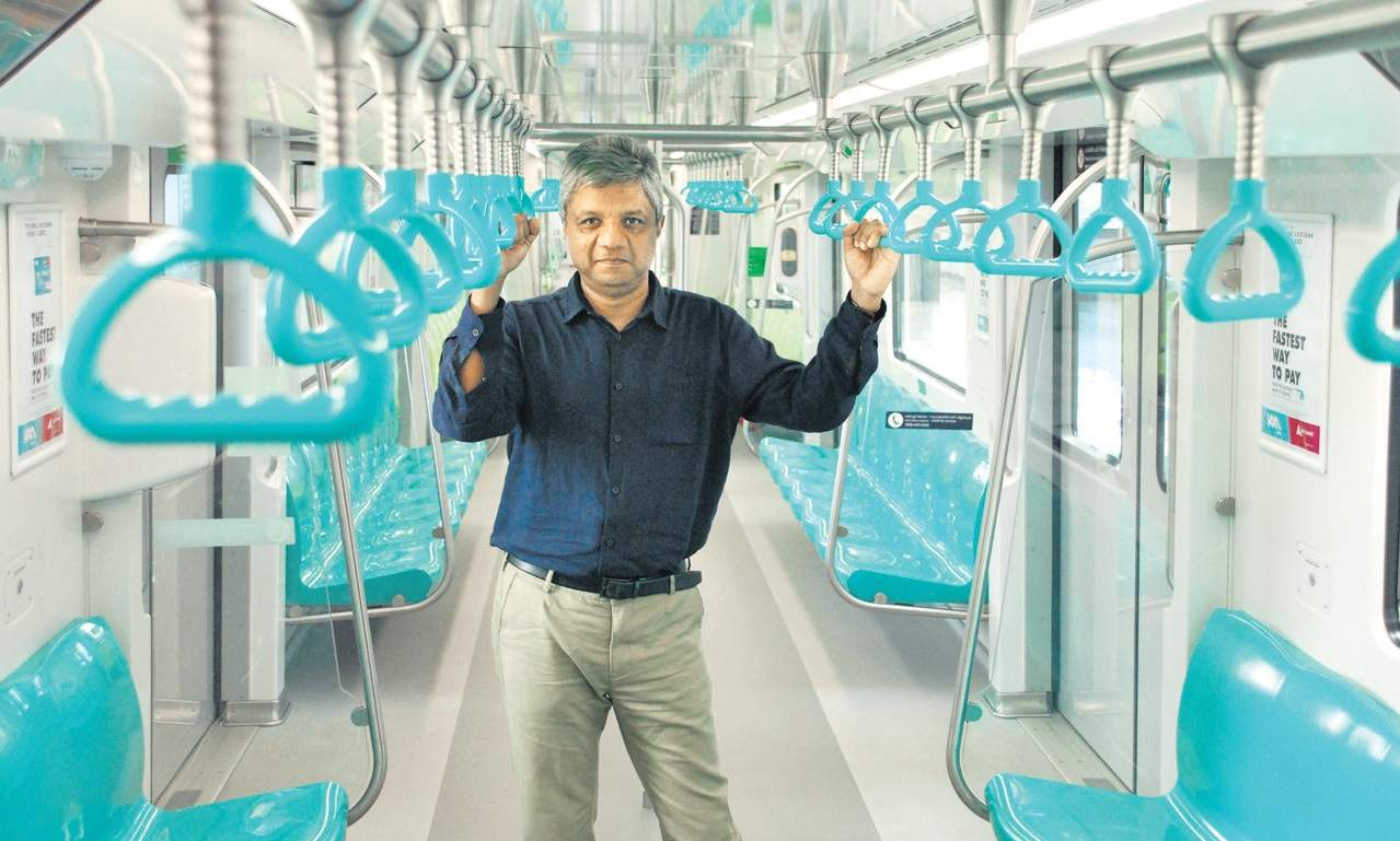 KMRL MD elias george resigned