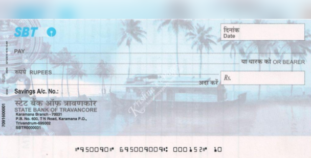 state bank of india cheque validity extended