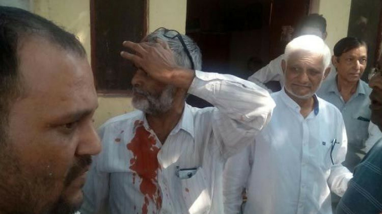 bjp attacked cpim office Dehradun