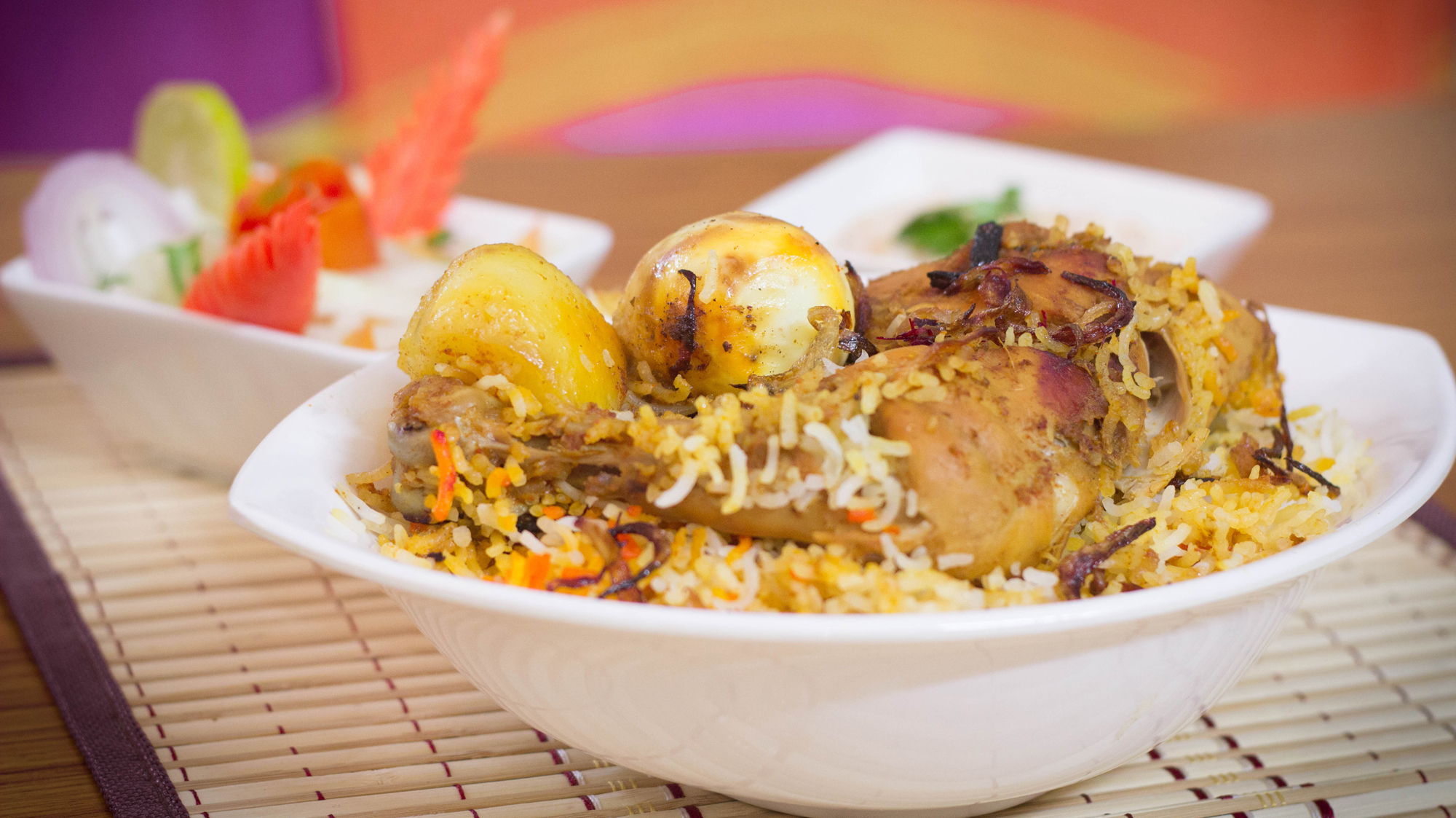 chicken biriyani from jail