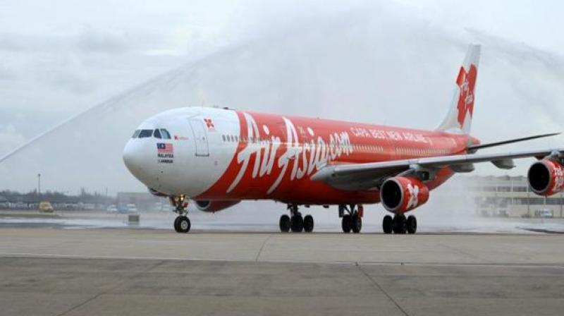 air asia airplane returned to perth Fly to 7 cities for just 99Rs