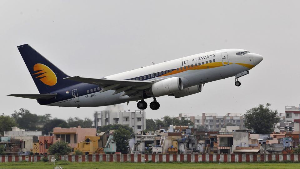 threat through phone jet airways landed