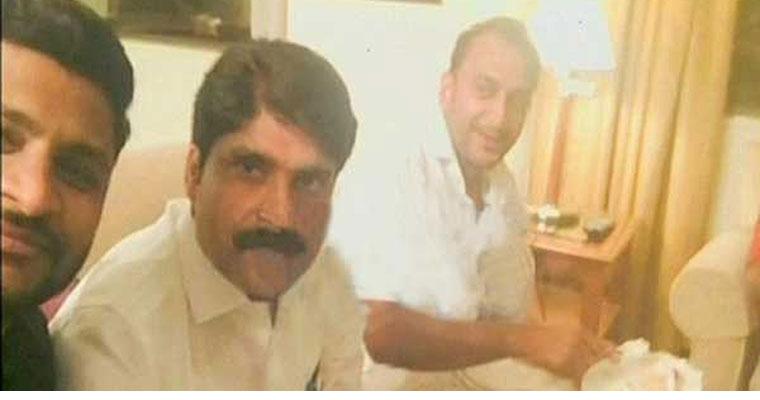 UDF leaders with gold smuggler