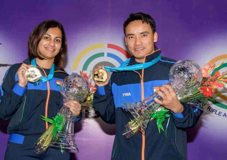 shooting world cup india gets gold