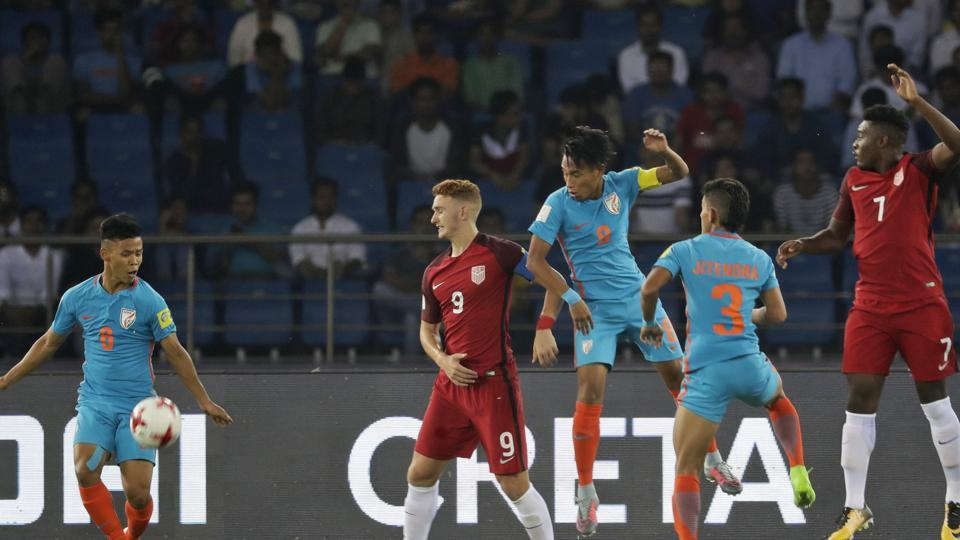 india loses first match in FIFA under 17