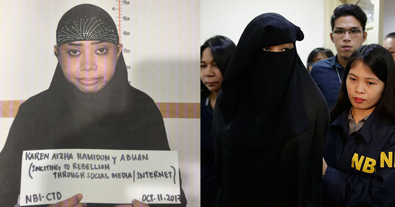 philippines woman recruiter of ISIS caught