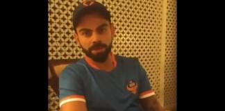 kohli video message on under 17 fifa world cup indian team