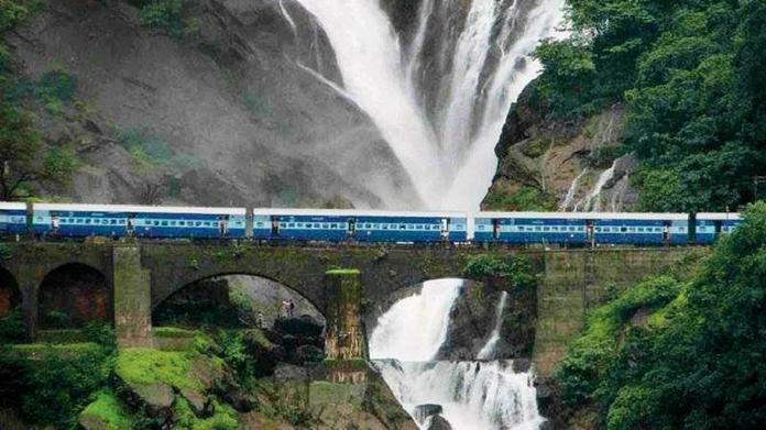 konkan railway development