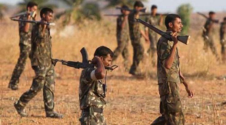 three naxalites killed at chattisgarh