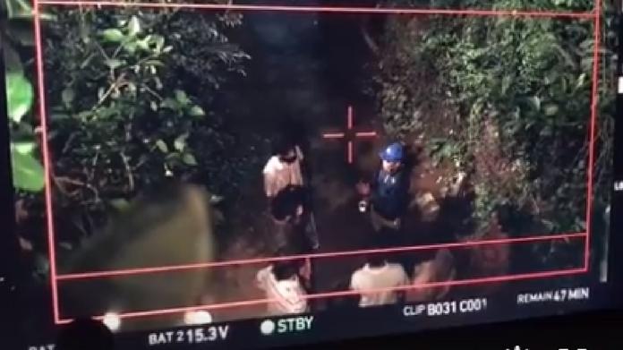 odiyan climax scene shooting video