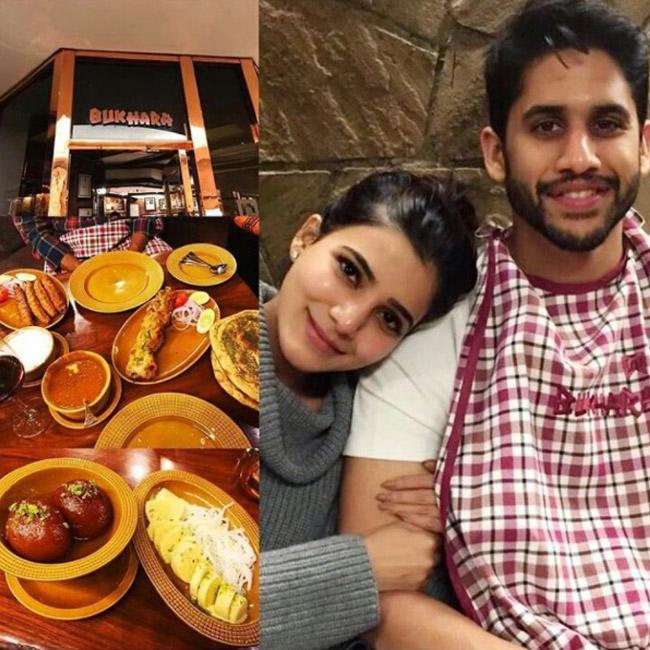 nagachaithanya samantha honeymoon pics