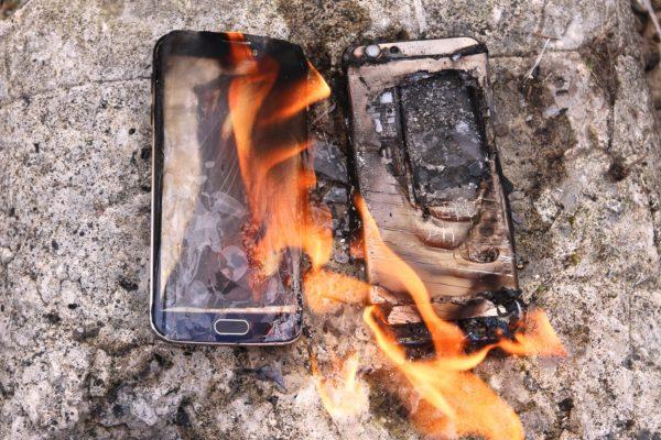 samsung phone blast