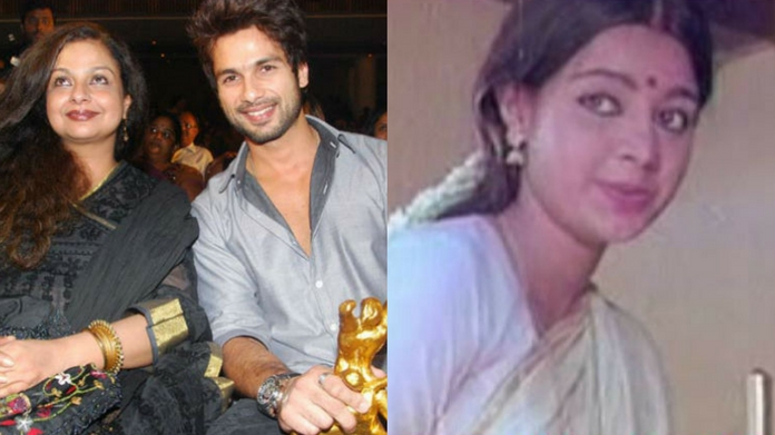 shahid kapoor mother was once malayalam actress