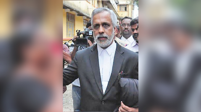raid in udayabhanu office and residence judge withdres from considering udayabhanu crucial proofs against udayabhanu says police