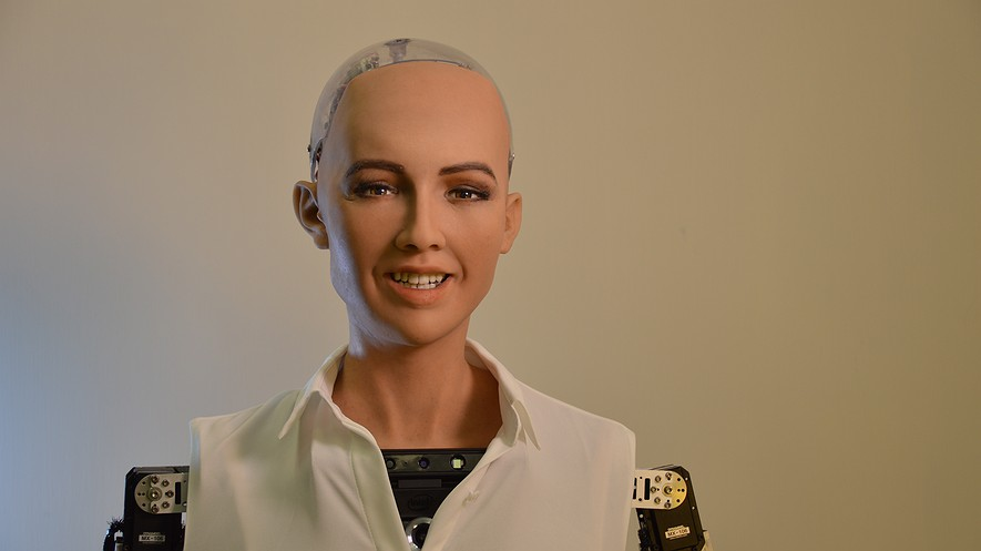 first country to give nationality to robots