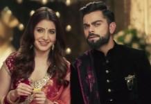 virat and anushka ad
