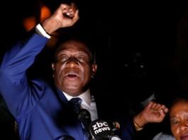 mnangagwa to come as zimbabwe prez