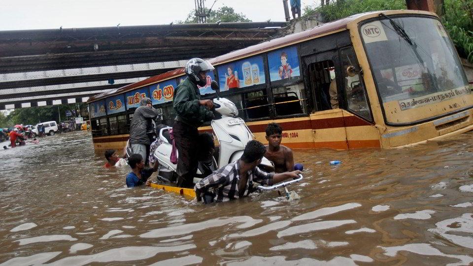eight died in chennai heavy rain
