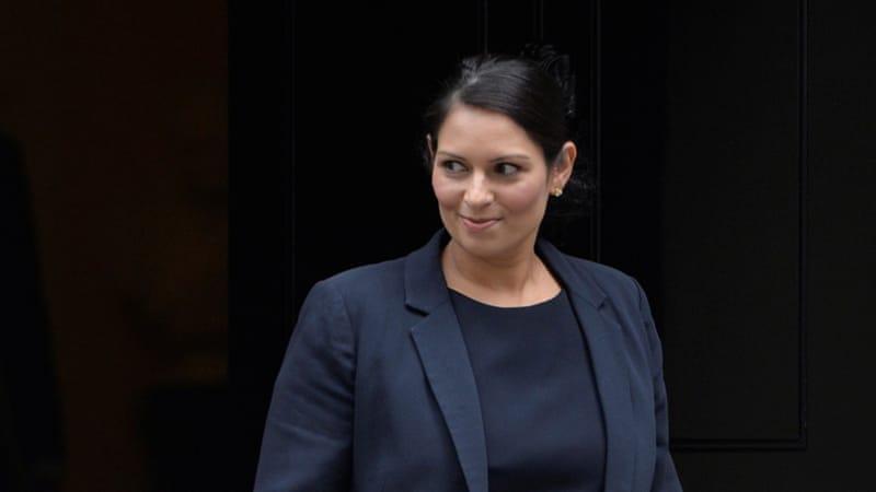 UK cabinet Minister priti patel resigns