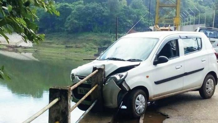 accident at pazhassi dam bridge