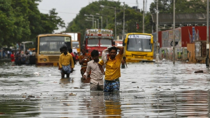 chennai heavy rain 10000 people rehabilitated