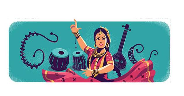 google honors sithara devi through doodle
