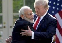 Modi Trump hold talks on sidelines of ASEAN summit