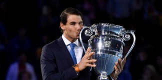 Rafael Nadal Presented ATP World Number 1 Award at London