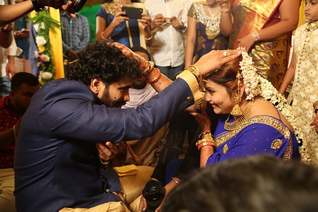 namitha wedding game