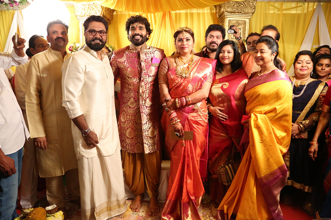 namitha wedding sarathkumar