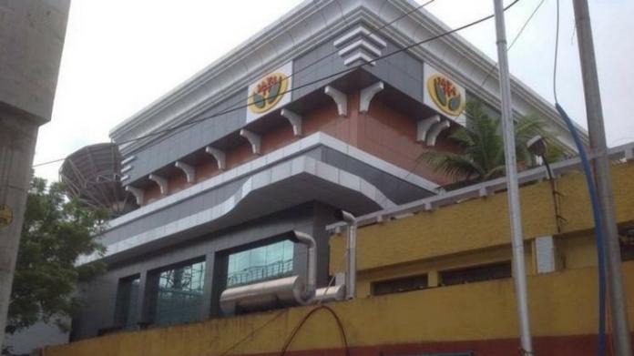 raid in Jaya tv office
