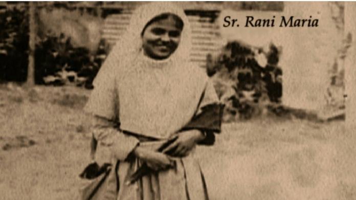 sister rani maria beatification today