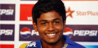 sanju scores 128 runs in match against srilanka