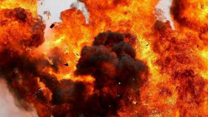 bomb attack against koothuparambu police station