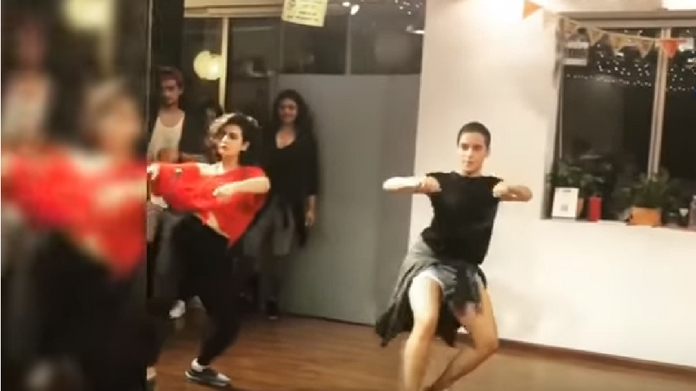 dangal girls dance video
