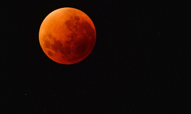 super blood moon in january