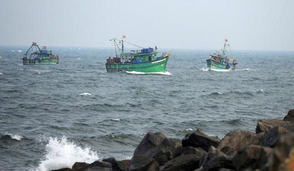 srilankan navy captured indian fishermen