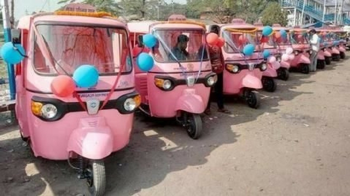 govt launched 500 pink auto