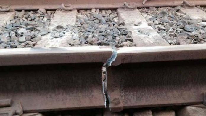 railway crack