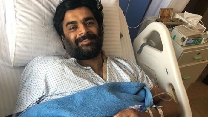 actor madhavan hospitalized