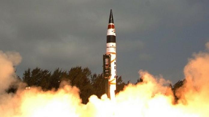 India test fire agni 2 missile