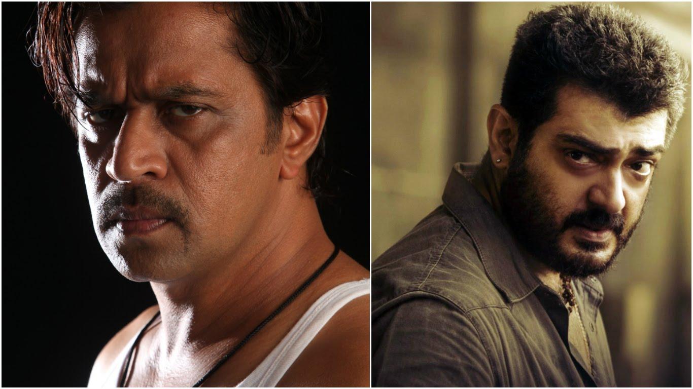ajith and arjun unites again