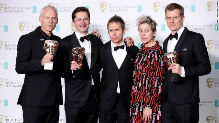 bafta 2018 awards declared