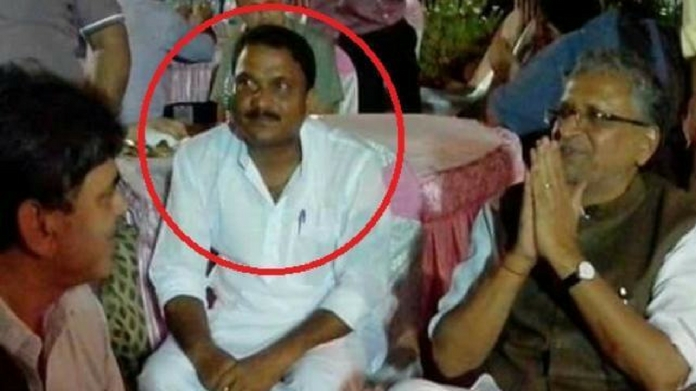 bjp leader manoj baitha surrendered