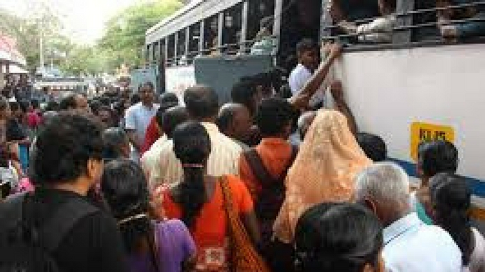 bus strike enters second day