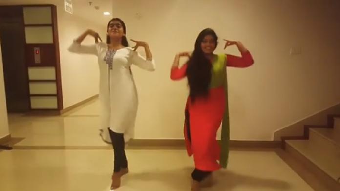 nimisha sajayan anu sithara dance video