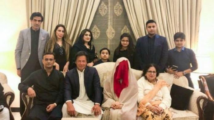 imran khan got married