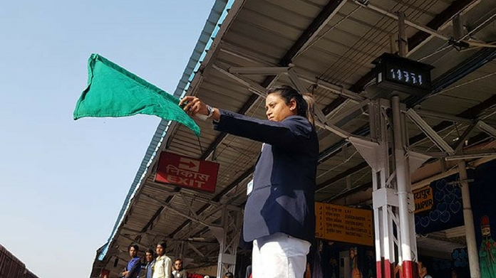 indias an all women crew railway station