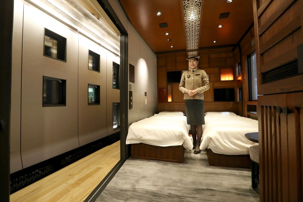 worlds most luxurious train inside pics