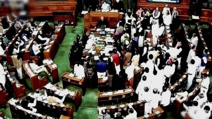 Loksabha adjourned